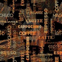 Photo murale café langues