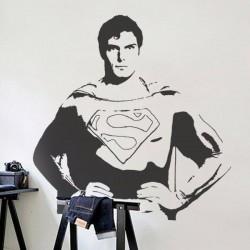 Autocollant mural Superman